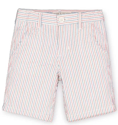 Hope & Henry Seersucker Shorts