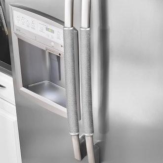 OUGAR8 Refrigerator Door Handle Covers (Set of 2)