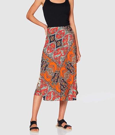 find.'s Printed Summer Midi Skirt