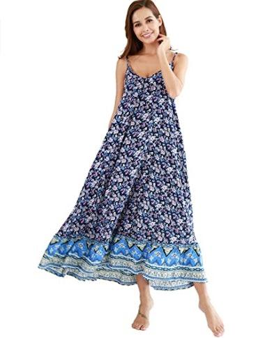 BUENOS NINOS Floral Maxi Dress