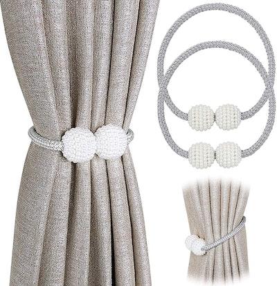 PINOWU Magnetic Curtain Tiebacks