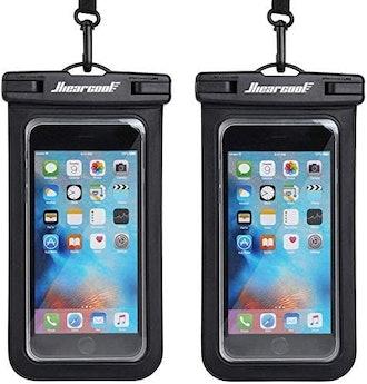 Hiearcool Waterproof Phone Pouch (2 Pack)