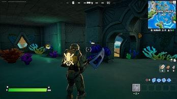 fortnite artifact location 3 gameplay