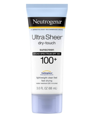 Neutrogena Ultra-Sheer Dry Touch Sunscreen SPF 100 (3 Oz)