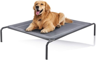 Love's Cabin Elevated Dog Bed