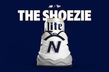 New Balance Miller Lite Shoezie Koozie