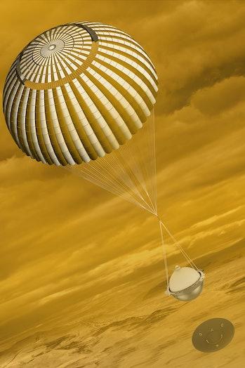 davinci+ atmospheric probe