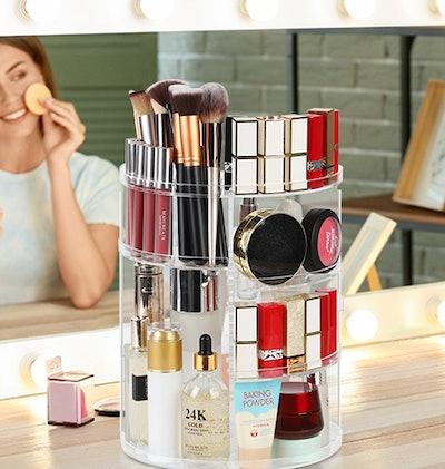 Syntus Rotating Makeup Organizer