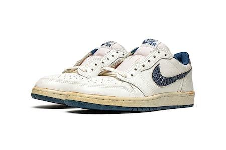 Nike, Air Jordan 1 Low 'Metallic Blue,' Original