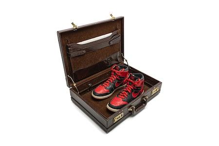 Nike, Air Jordan 1 High 'Black-Red,' Original Salesman Sample