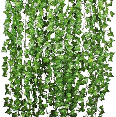 DearHouse Artificial Ivy Leaf Vine Hanging Wall Decor