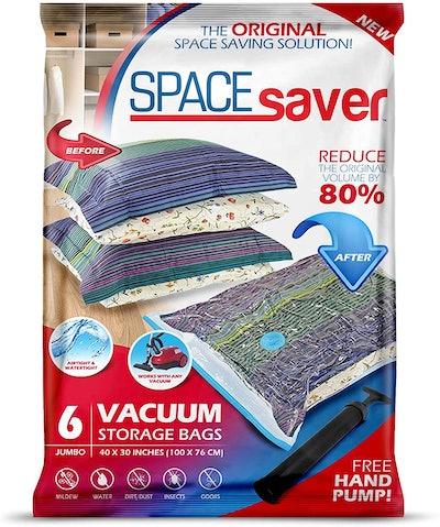 Spacesaver Premium Vacuum Storage Bags (6-Pack)