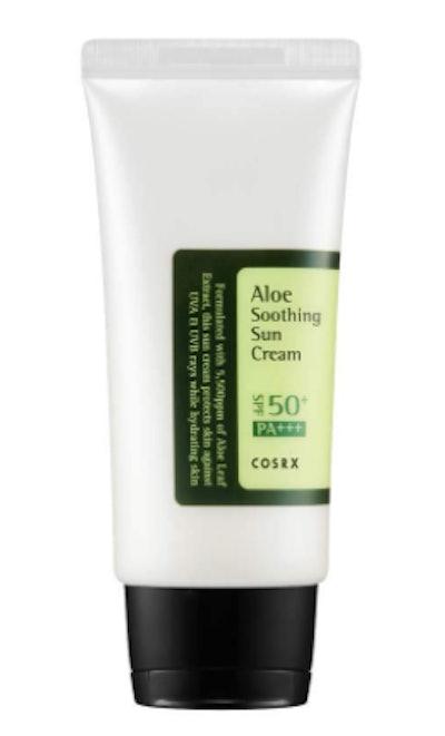 COSRX Aloe Soothing Sun Cream SPF 50 (1.7 Oz)