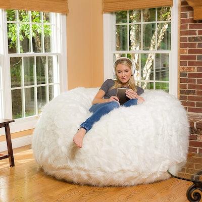 Comfy Sacks 6-Foot Memory Foam Bean Bag Chair
