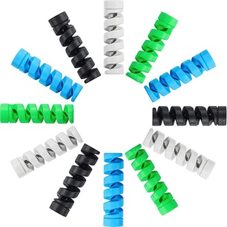 Jetec Highly Flexible Silicone Micro USB Protector (12-Piece)