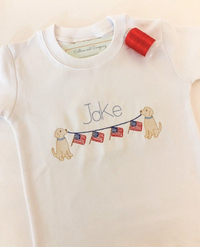 CollinsandCompany Personalized USA Shirt