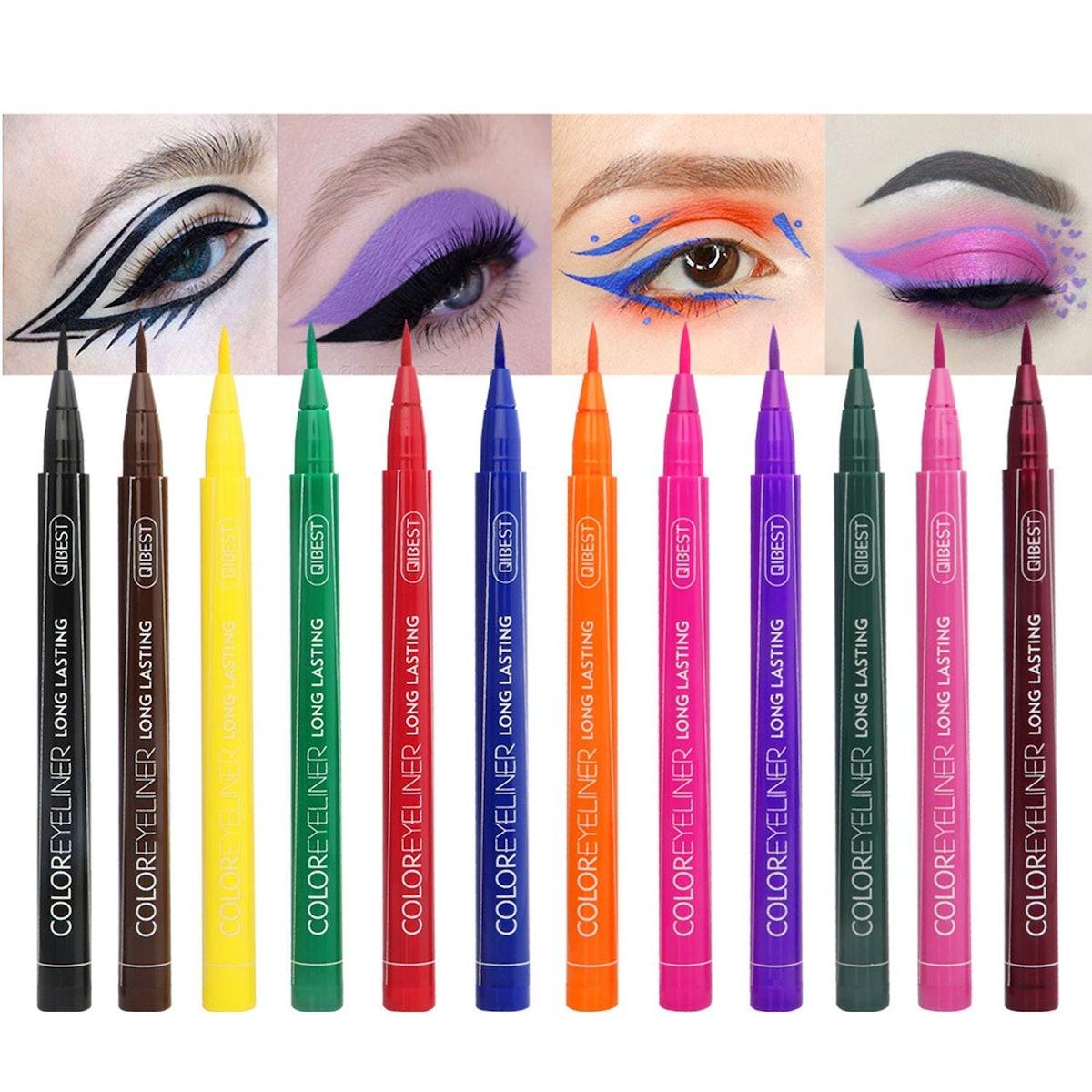 Rechoo Matte Liquid Eyeliner (12 Pack)