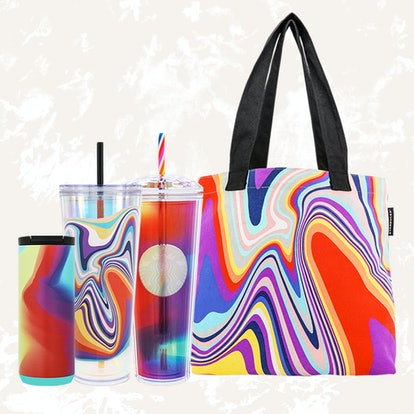 Starbucks 2021 Pride merch includes a cute tote bag and three new cups.