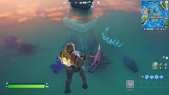 fortnite artifact location 4 gameplay