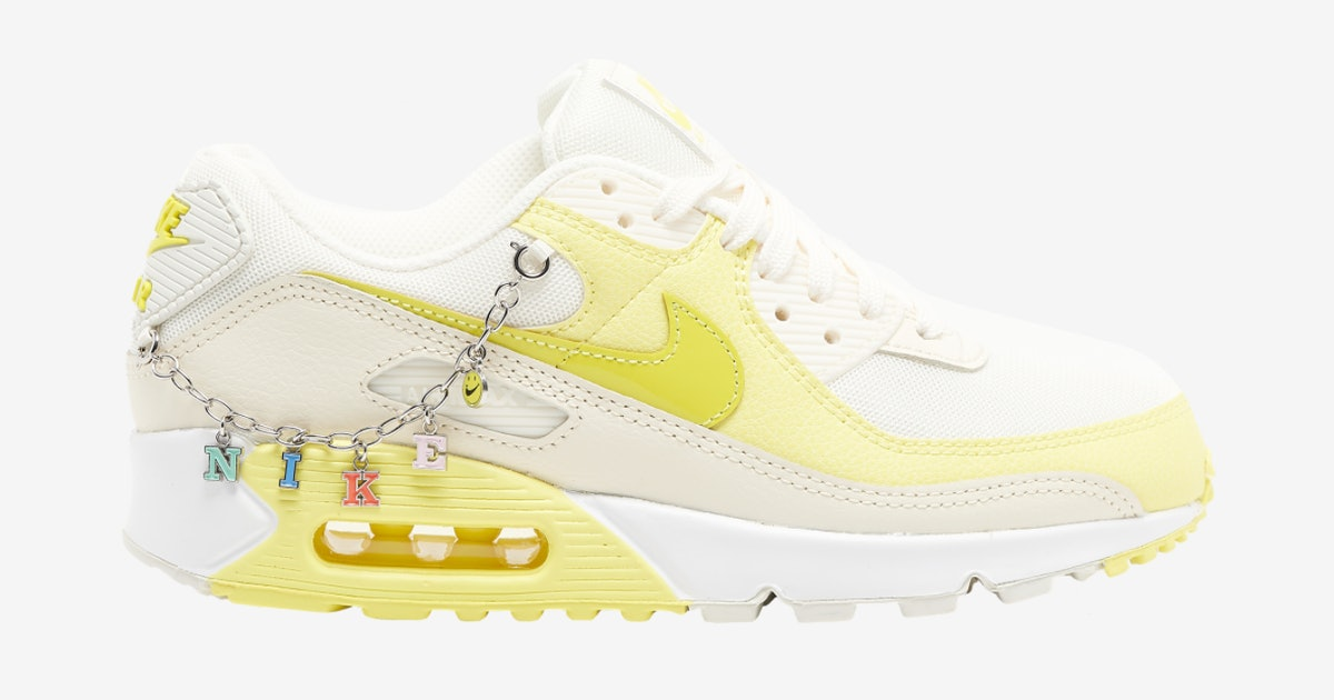 Nike has an Air Max 90 sneaker that comes with its own charm bracelet