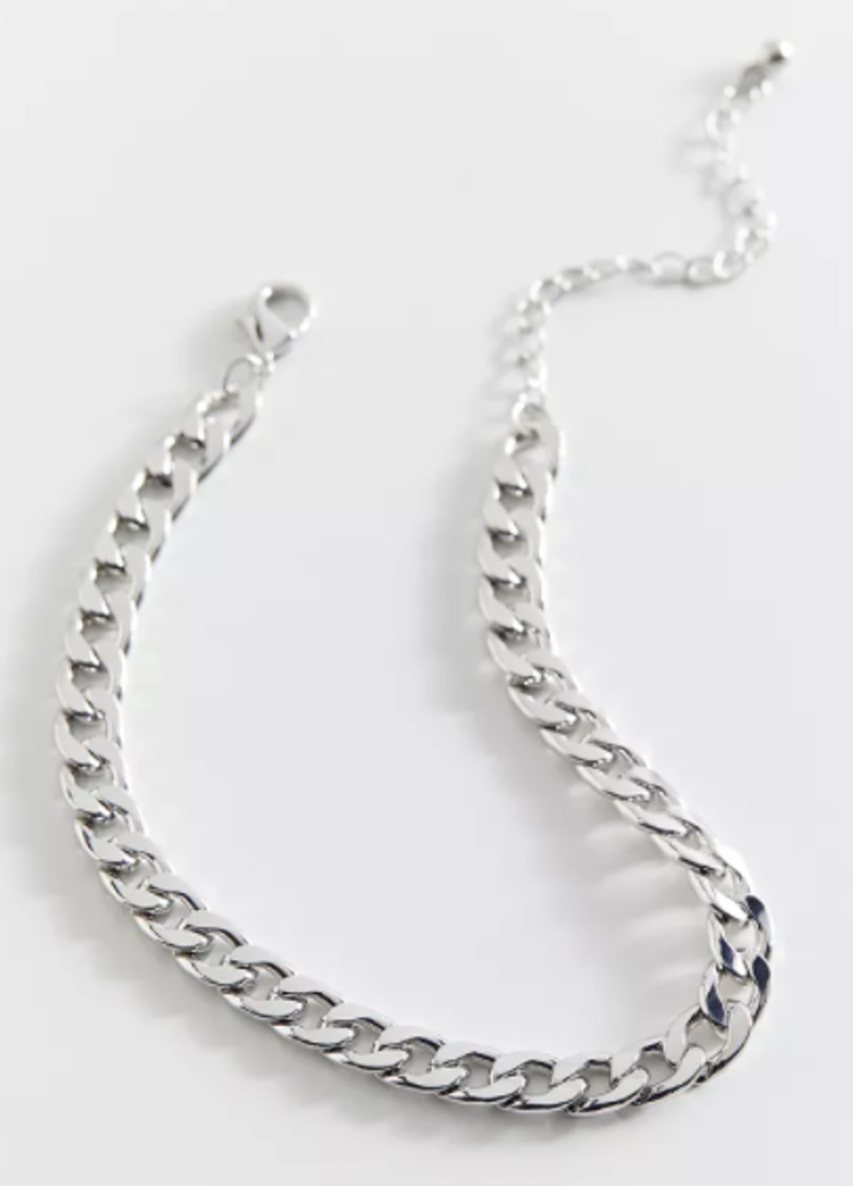 Statement Curb Chain Anklet