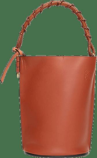 Gate Leather Bucket Bag
