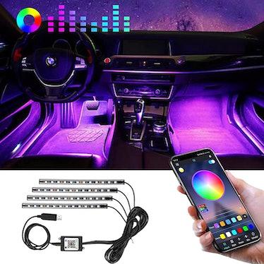 Winzwon Interior Car Lights