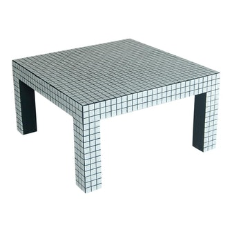 Superstudio Coffe Tiled Table