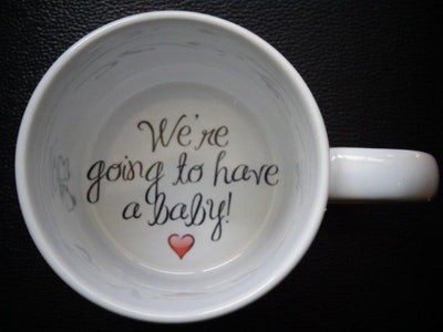We're Going to Have a Baby Coffee Mug