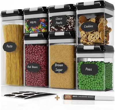Chef's Path Airtight Food Storage Containers (7-Pack)
