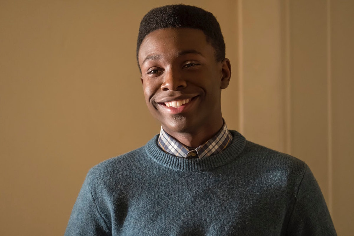 Niles Fitch as Teen Randall goes to the movies in This Is Us