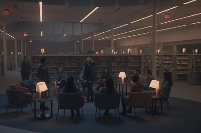 Moira's support group in 'The Handmaid's Tale' Season 4, Episode 8 via the Hulu press site