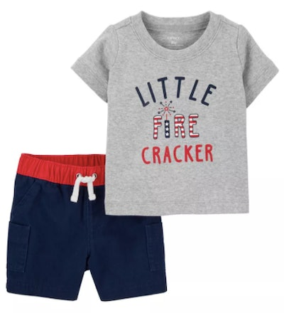 4th of July Outfit 2-Piece