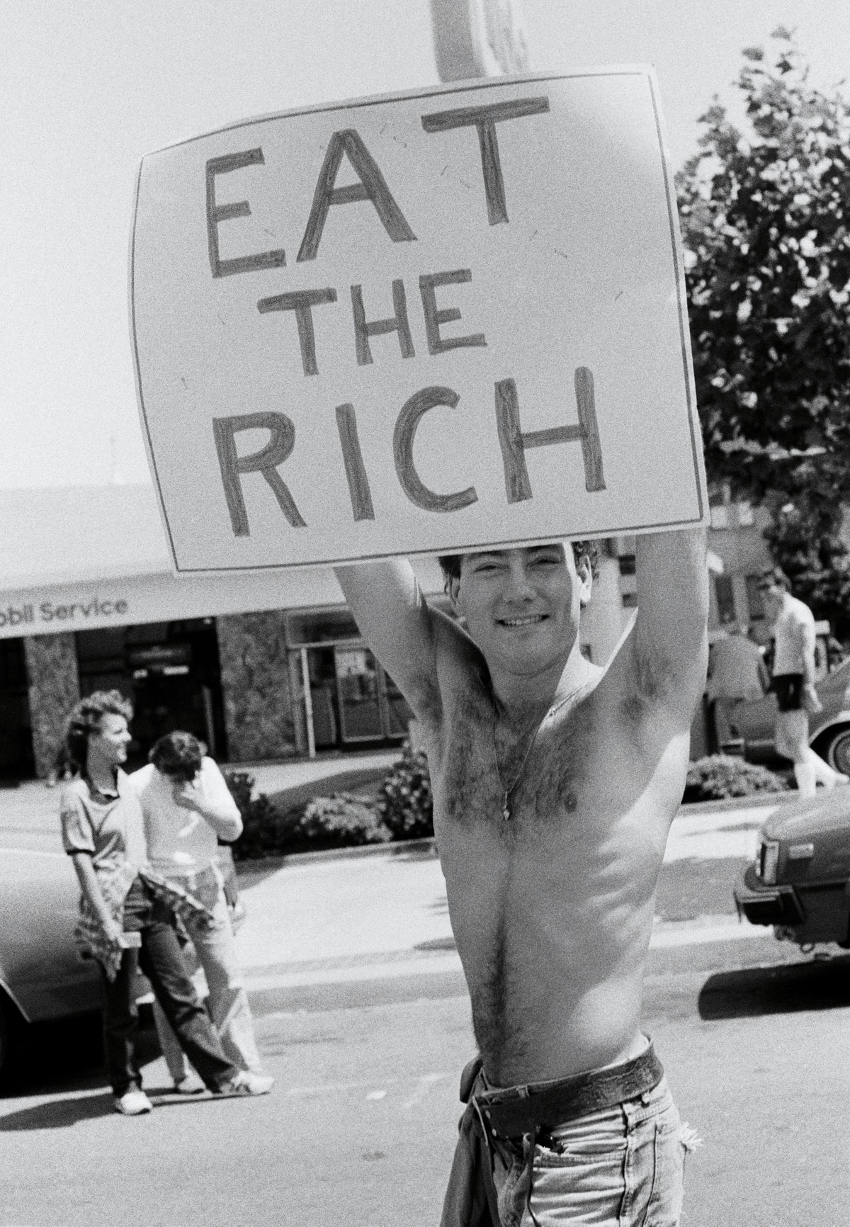 National March for Gay and Lesbian Rights (EAT THE RICH for Fire Island Artist Residency), 1984/2017
