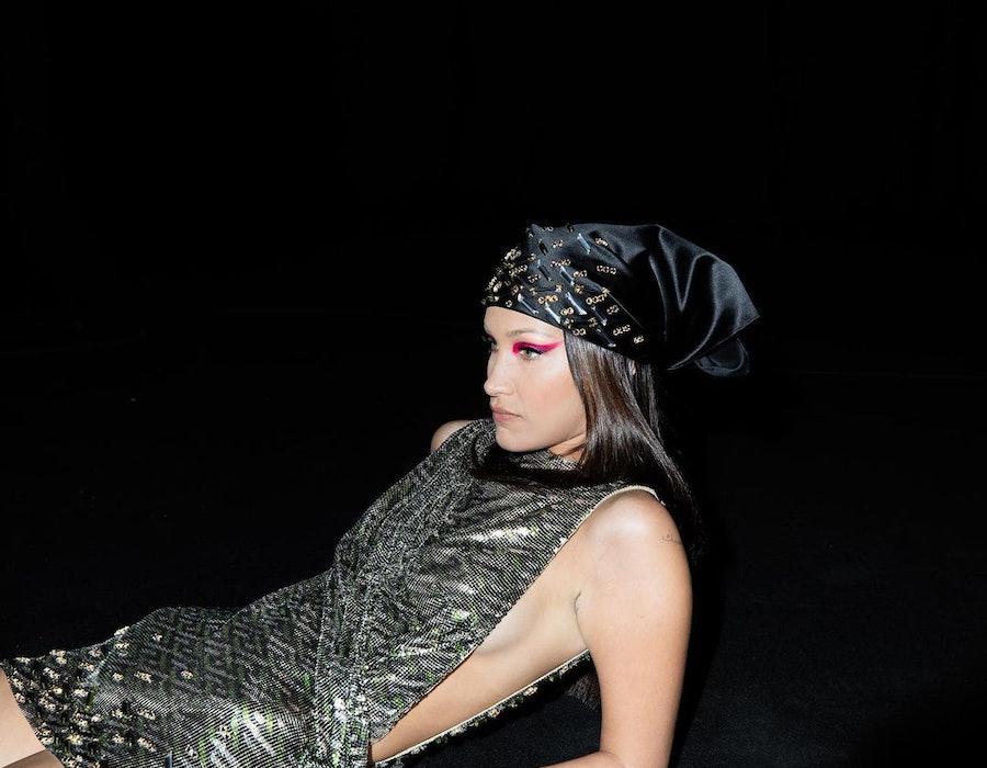 bella hadid 90s accessories trends