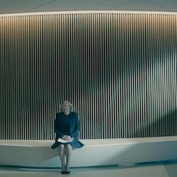 Elisabeth Moss in The Handmaid's Tale via Hulu