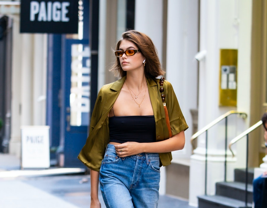 Kaia Gerber seen out and about in SoHo, New York City on September 3, 2019.