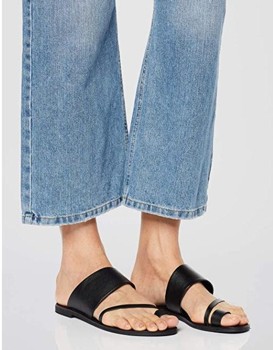 find. Asymmetric Toe-Thong Sandals