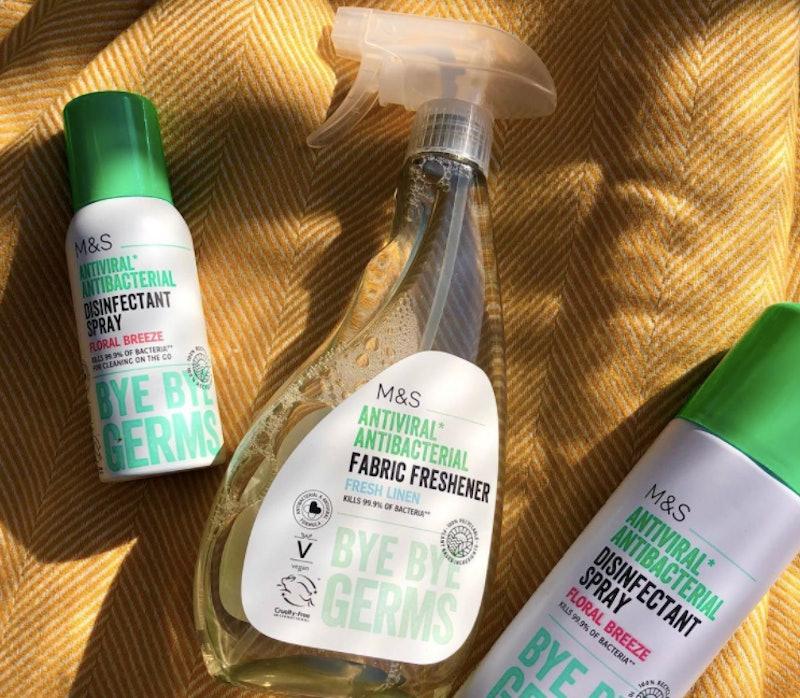 M&S Antiviral Antibacterial Fabric Freshener