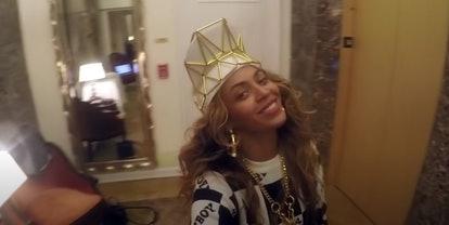 """Beyonce gets goofy in her music video of """"7/11."""""""