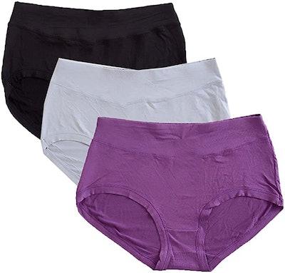 Warm Sun Bamboo Viscose Panties (3-Pack)