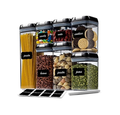 Airtight Food Storage Container Set (7-Pack)