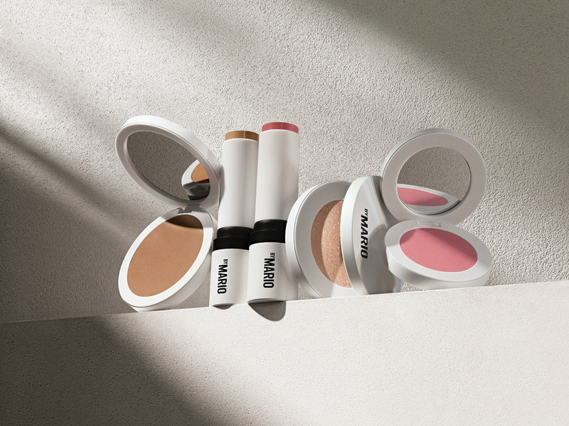 A sampling of the products that will be included in Makeup by Mario's Soft Sculpt Collection.
