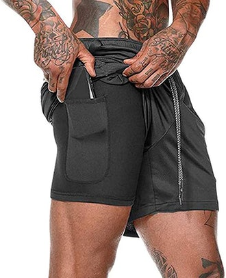HANERDUN Men Sport Shorts with Pocket