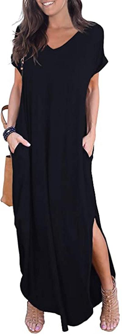 GRECERELLE Casual Long Maxi Dress