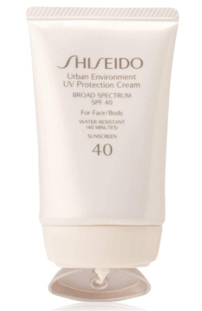 Shiseido Urban Environment UV Protection Cream SPF 40 (1.9 Oz)