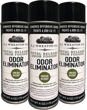 E.J. Wheaton Co. Odor Eliminator (3 Pack)