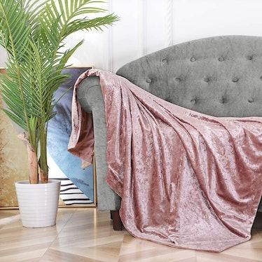 BOURINA Velvet Throw Blanket