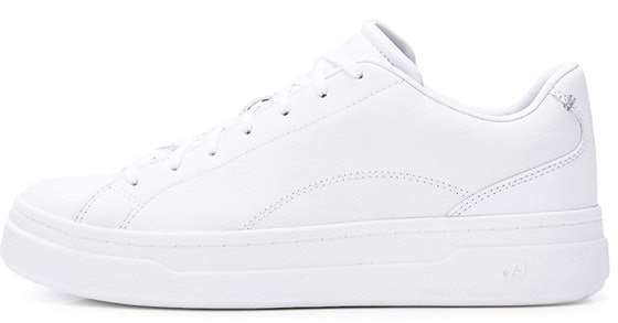 CARE OF by PUMA Leather Platform Low-Top Sneakers