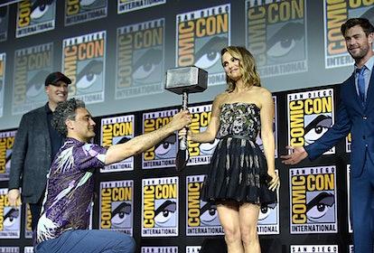 Natalie Portman will return to the 'Thor' franchise in 'Love & Thunder.' Photo via Marvel
